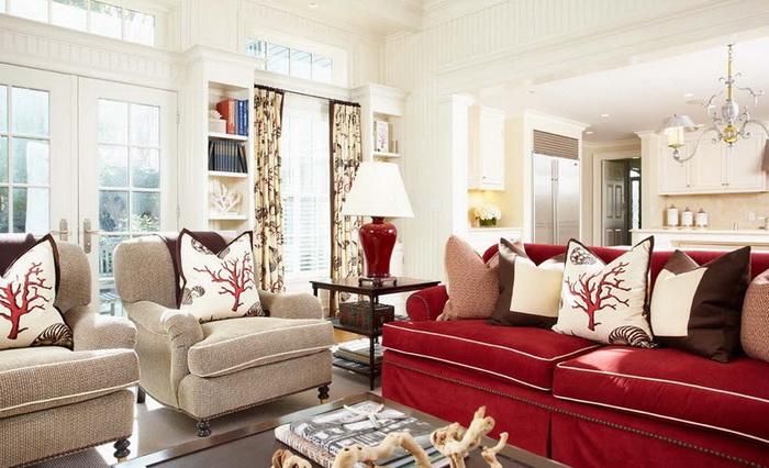 имперски стиль Как подобрать кресло к дивану?