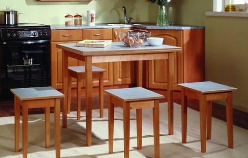 Обновление кухонного стола своими руками