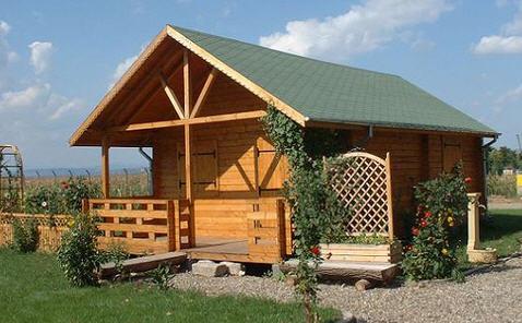 Строим баню из деревянного бруса