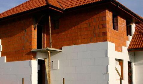 Утепление фасада каменного дома экструдированным пенополистиролом