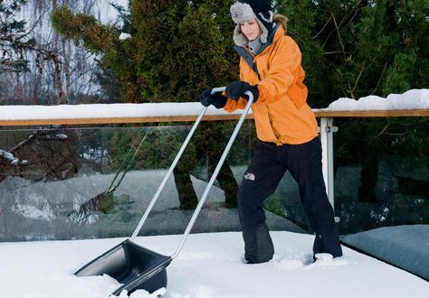 Идеальная лопата для чистки снега