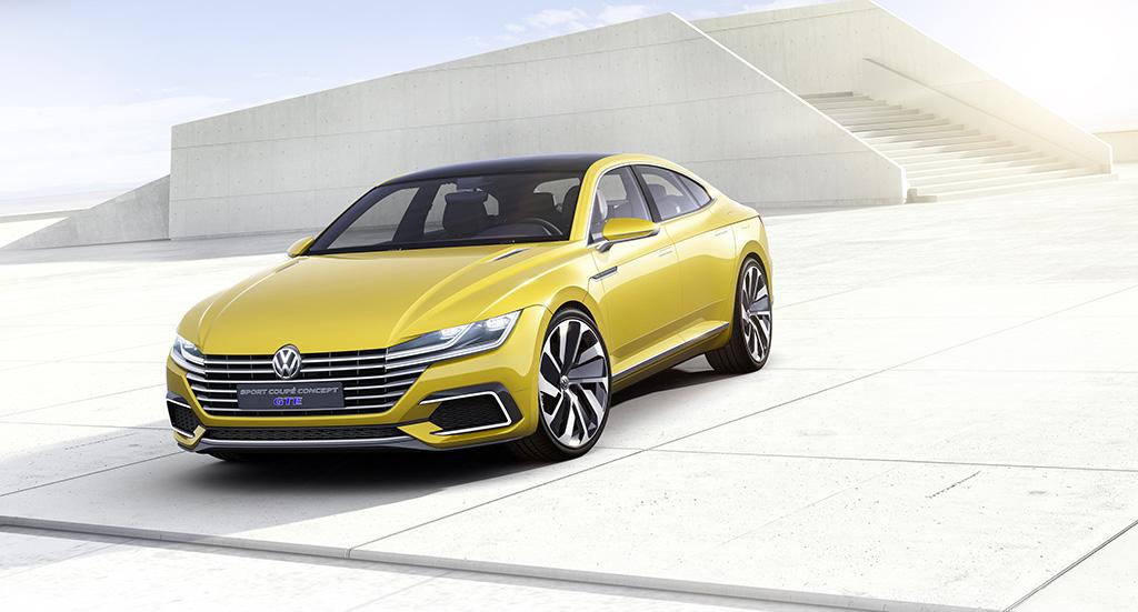 Sport Coupe Concept GTE устанавливает новые правила