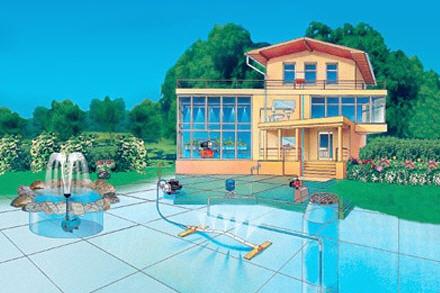 Автономная система водоснабжения в частном доме