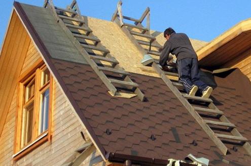 Форма крыши, кровельный материал для крыши