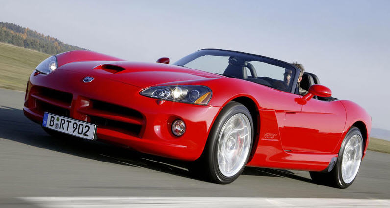 Обзор Dodge Viper SRT-10 – роскошь и скорость