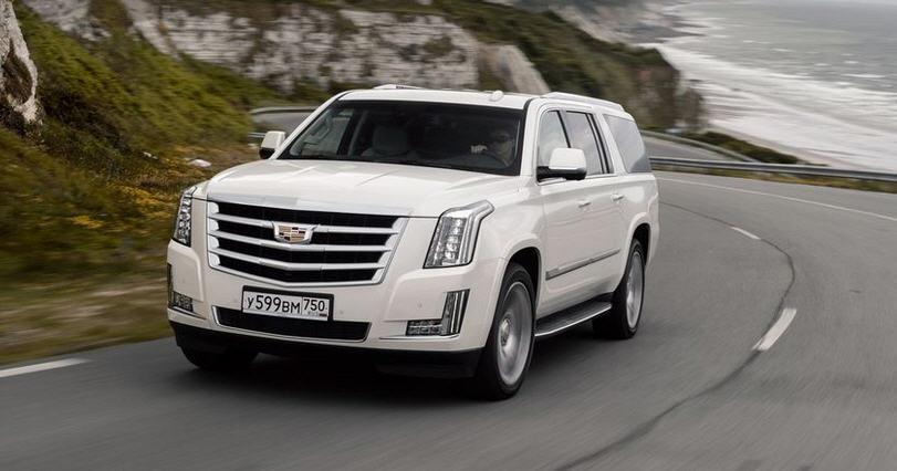 Тест-драйв нового Cadillac Escalade