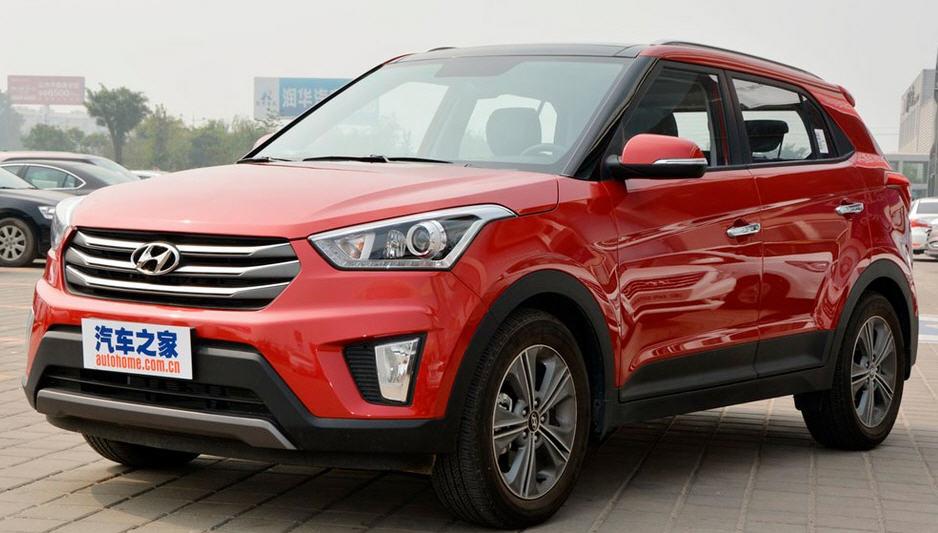 Hyundai Creta 2015-го модельного года