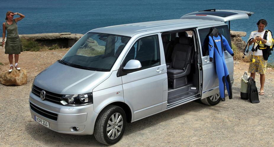 Volkswagen Multivan – без ориентира на коммерцию
