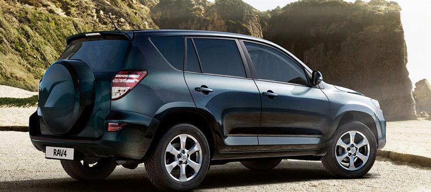 Toyota RAV4 – новые оттенки