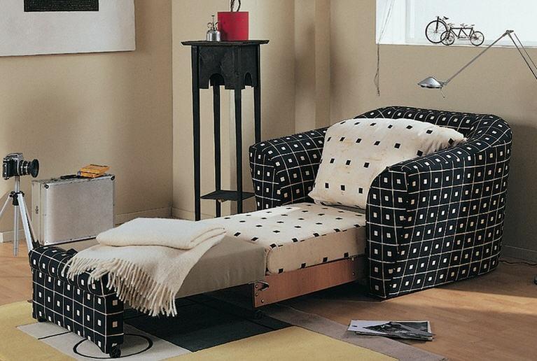 Кресло-кровать «аккордеон»