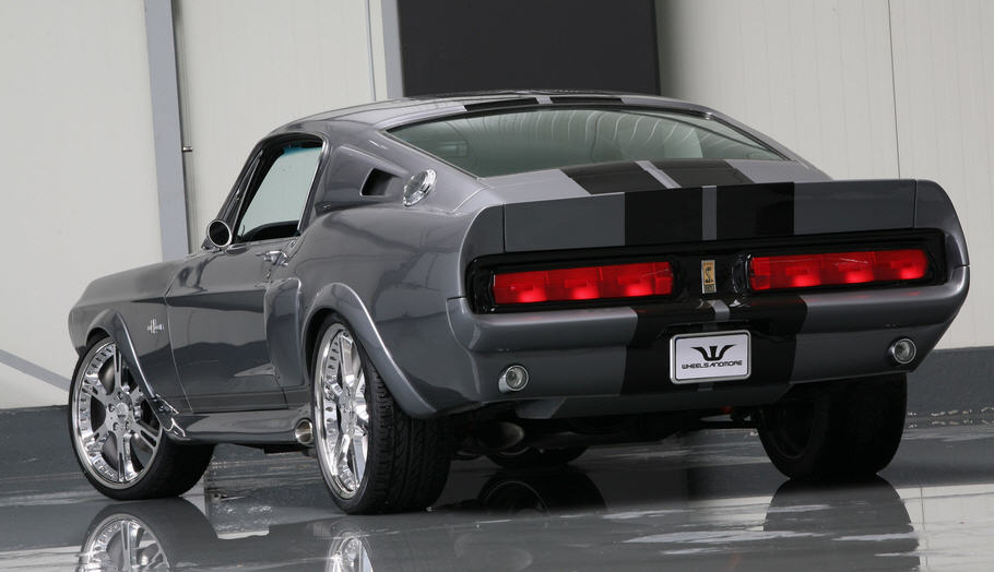 Форд мустанг 1967 шелби «Eleanor», легенда американского автопрома.
