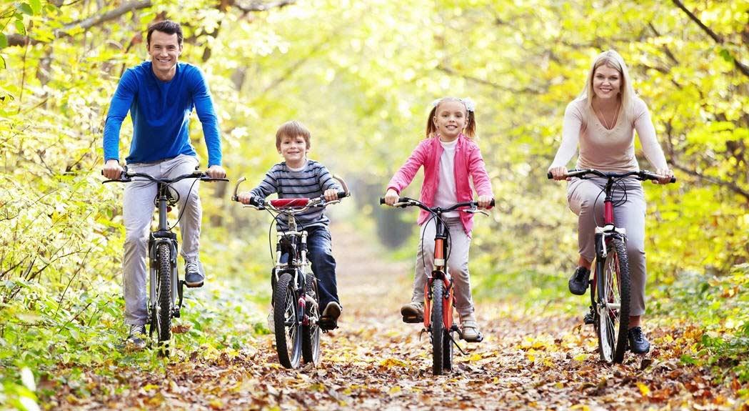 Как вести активный образ жизни, семья и спорт