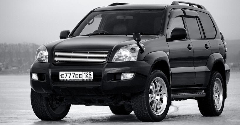 Тойота Прадо 120 замена масла в АКПП своими руками