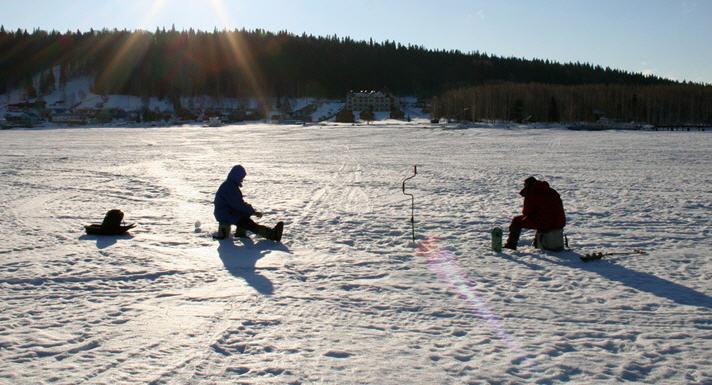 Зимняя рыбалка - Безнасадочная ловля на мормышку