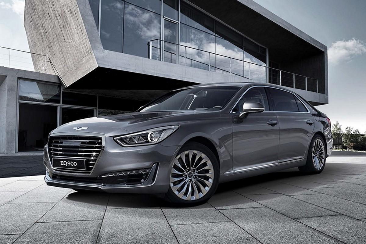 Премиальный Hyundai Genesis G90