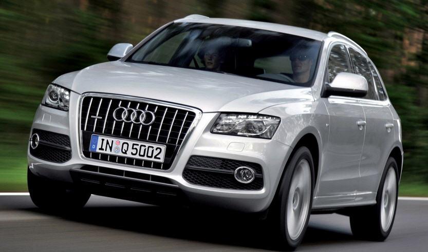 Наш автопарк. Citroёn DS5 и Audi Q5
