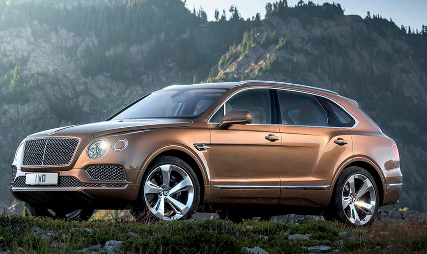 Кроссовер Bentley Bentayga 2016-2017 года