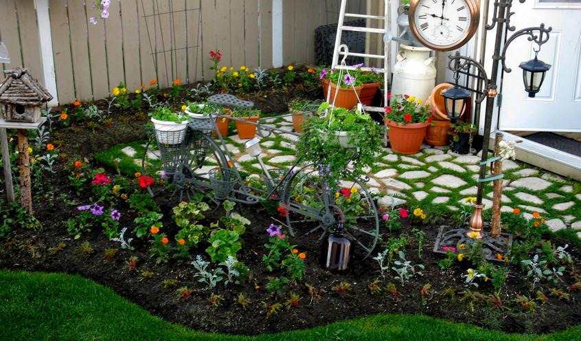 Правила оформление огорода и сада