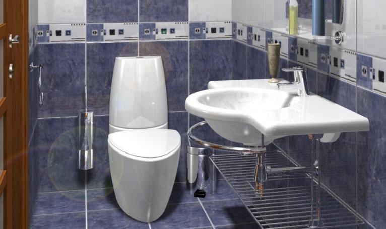 Дизайн туалета – подходим творчески