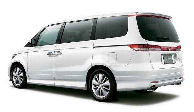 Honda Elysion обзор автомобиля