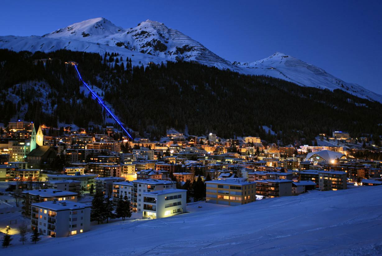 Давос - Курортный рай Швейцарии