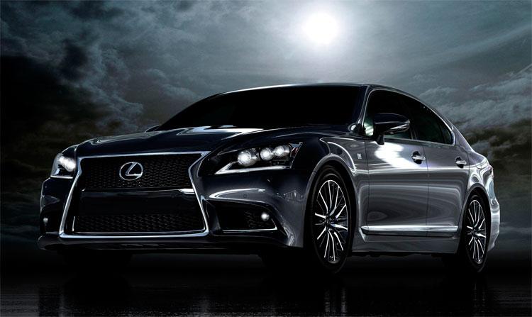 Гибридный седан Lexus LS – шагая в ногу со временем