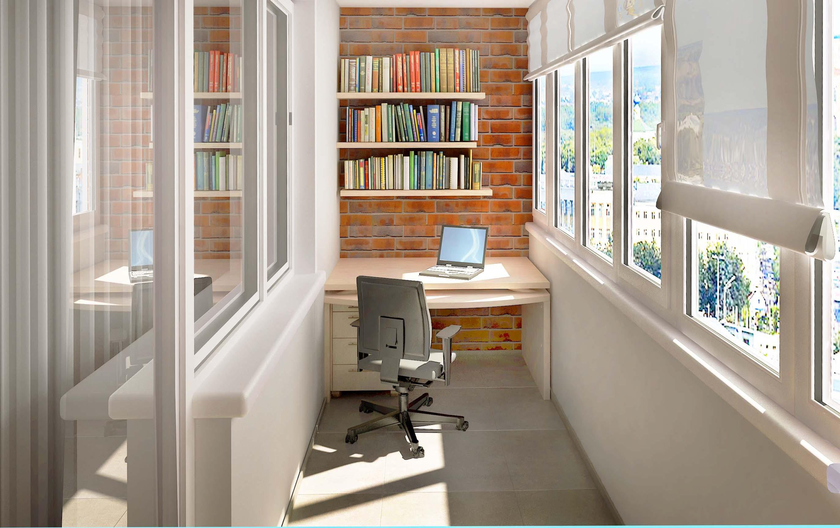 Дизайн небольшого балкона, советы и идеи
