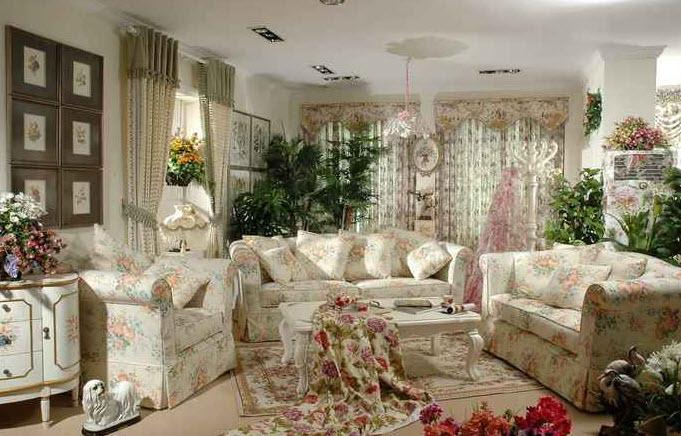 Дизайн комнаты во французском стиле своими руками