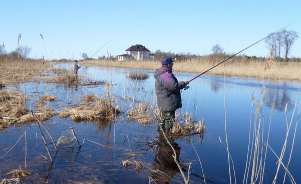 Весенняя рыбалка - март, апрель, май