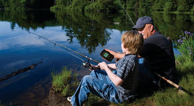 рыбачить с эхолотом