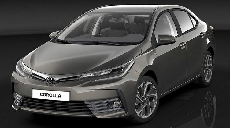 Обновленная Corolla