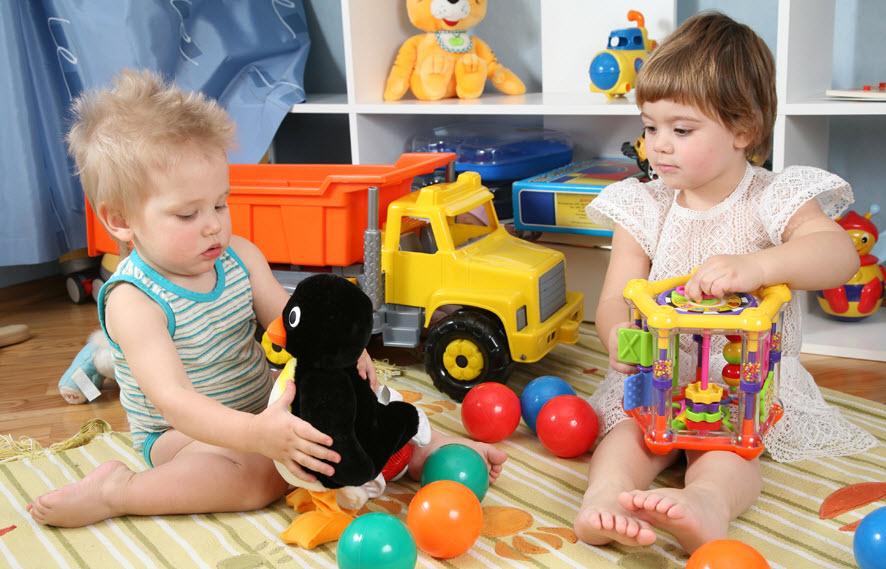 Игрушки наших малышей