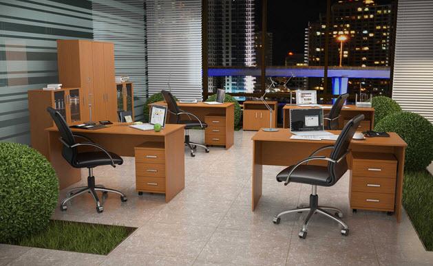 Офисная мебель. Оборудуем офис мебелью