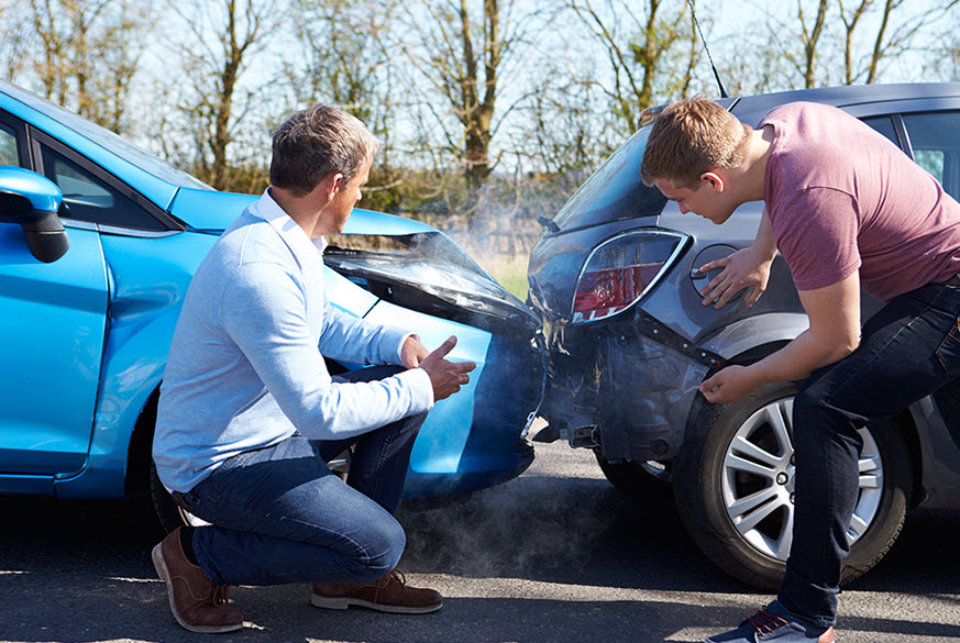 Действия автомобилиста при ДТП