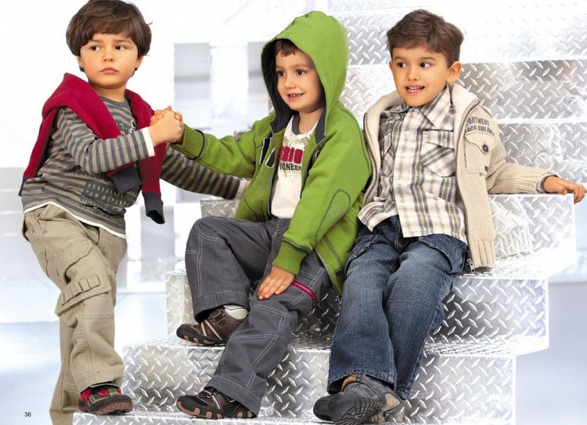 Детская одежда. Модная детская джинсовая одежда