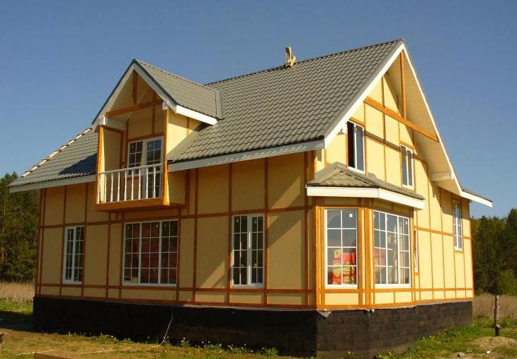 Преимущества каркасного строительства домов