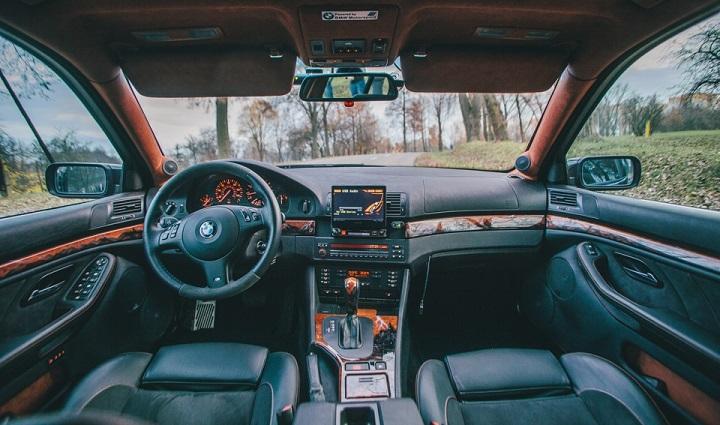 салон BMW E39