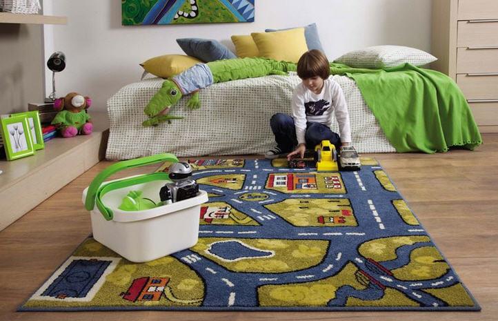 Современные полы для детской комнаты