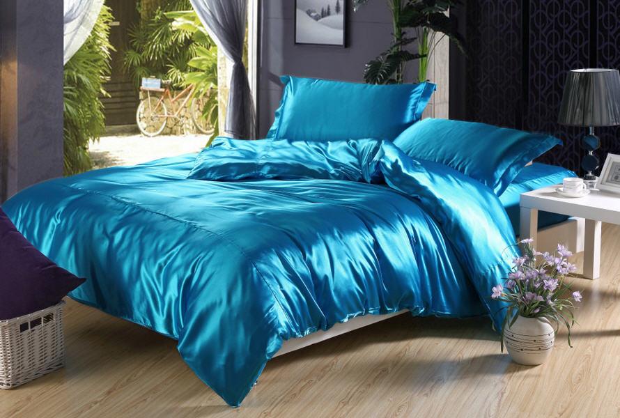 Красивое постельное белье из атласа по доступным ценам