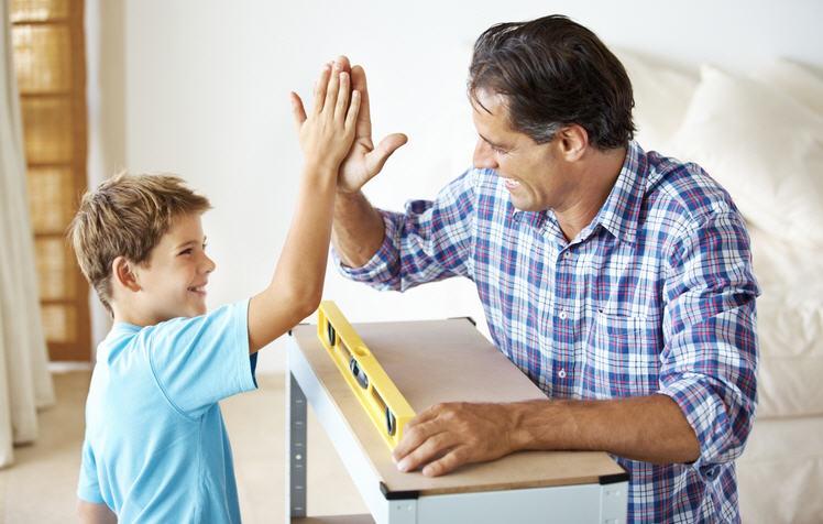 Как вырастить из сына настоящего мужика