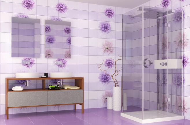 Цвет панелей из поливинилхлорида в ванной