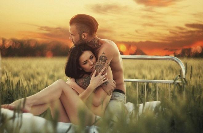 Женщина и мужчина в сексуальных отношениях