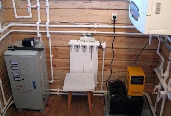 С какой целью используются ИБП для газового котла?