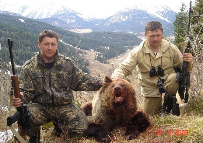 Охота на медведя: с собаками, на берлоге, овсах, с подхода
