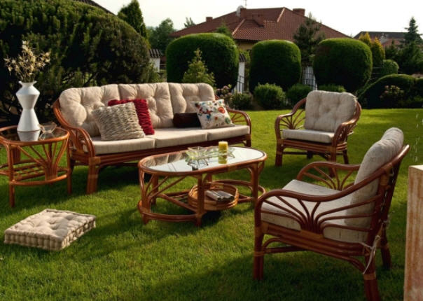 Выбираем красивую и функциональную садовую мебель