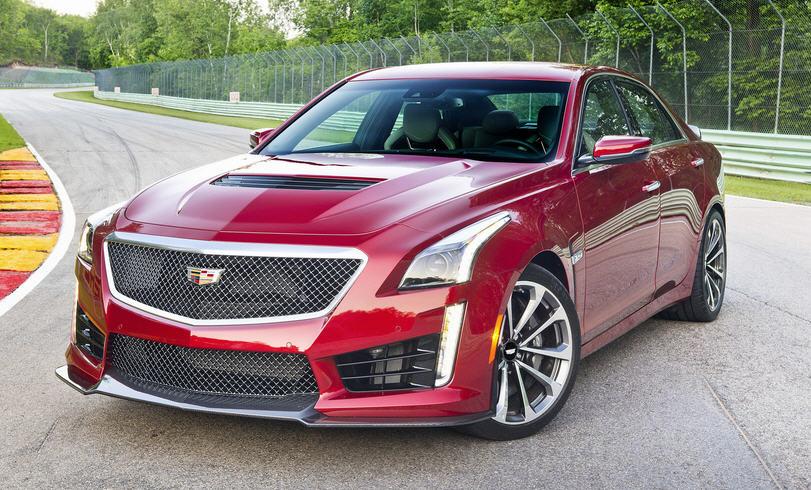 Обзор Cadillac CTS-V Coupe. Новый символ свободы
