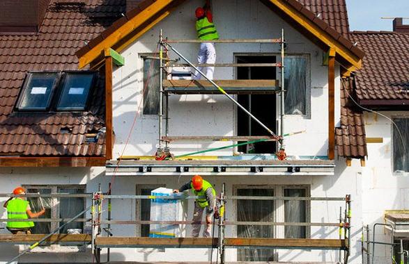 Технология мокрый фасад, монтаж своими руками