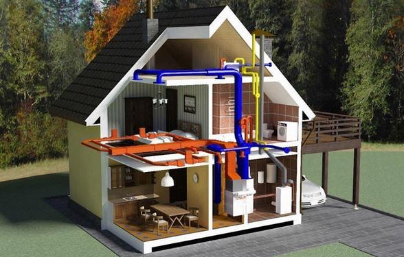 Выбираем систему отопления для загородного дома