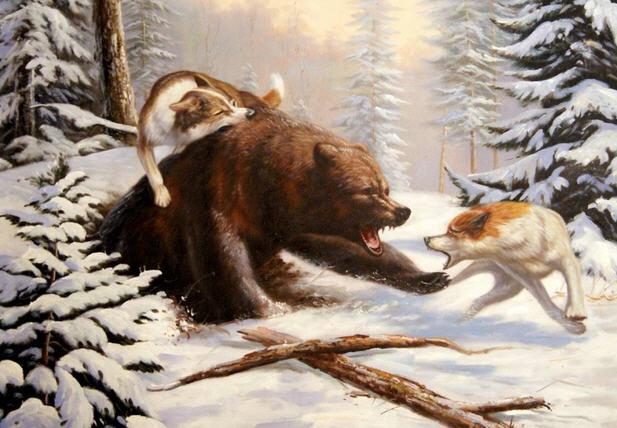 Охота на медведя, несколько проверенных способов