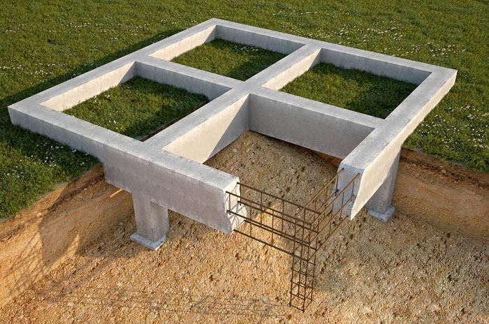 Ленточные фундаменты и их сооружение
